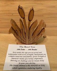 Reed Birthday Tree 28th October - 24th November | Homeware Gifts | Handmade Gifts