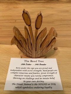 Reed Birthday Tree 28th October - 24th November | Homeware Gifts | Handmade Gifts