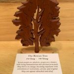 Rowan Birthday Tree Large 21st January - 17th February | Homeware Gifts | Handmade Gifts