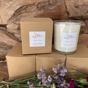 Fresh Linen Natural Plant Wax Candle |Homeware Gifts | Eco Friendly Gifts
