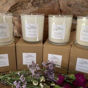 Natural Plant Wax Candles