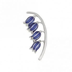 Bluebell brooch | Silver Jewellery