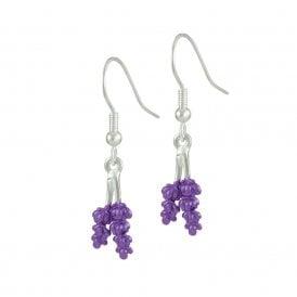 Lavender earrings | Silver Jewellery