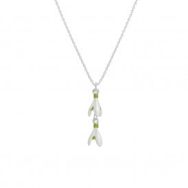 Snowdrop necklace | Silver Jewellery