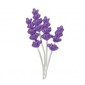 Lavender brooch