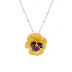 Pansy necklace | Silver Jewellery