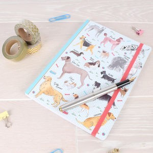 Debonair dog notebook | Eco Friendly Gifts