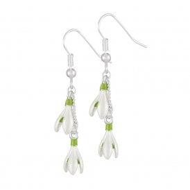 Snowdrop earrings | Silver Jewellery