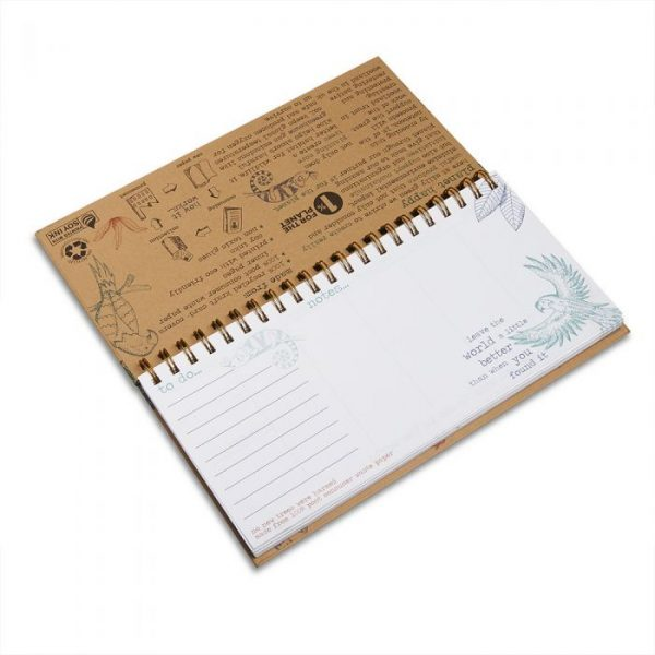 Recycled weekly planner | Eco Friendly Gifts