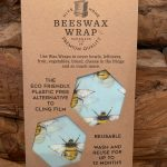 Beeswax wrap-sky-bee