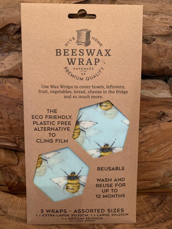 Beeswax wrap-sky-bee