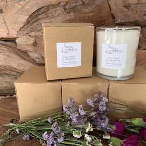 Lime, Basil and Mandarin Candle Homeware Gifts | Eco Friendly Gifts