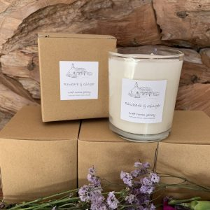Eco Friendly Gifts | Rhubarb and Ginger Candle