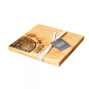 Gin is My Tonic Chopping Board SH17 | Homeware Gifts