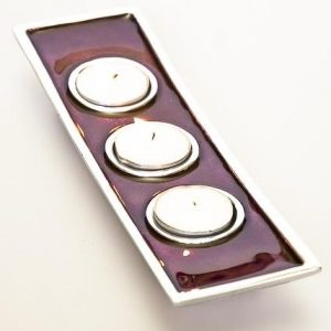 Triple Tealight Holder | Tealight Holders | Homeware Gifts