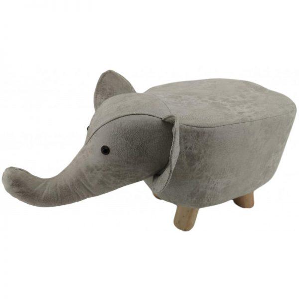 mini light grey elephant