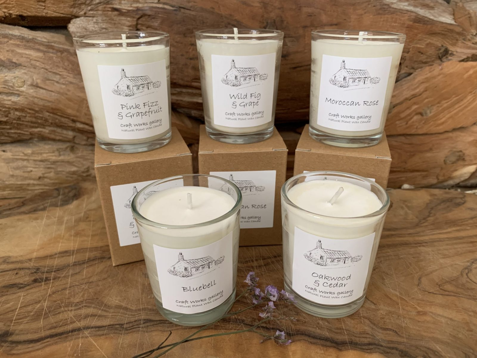 Natural wax candles | Unusual Gifts | Eco Friendly Gifts