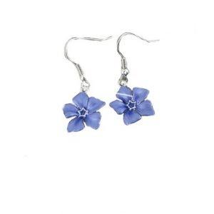 Periwinkle earrings | Silver Jewellery