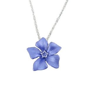 Periwinkle necklace | Silver Jewellery