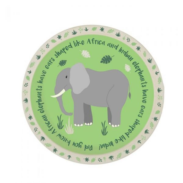 Elephant bamboo plate | Homeware Gifts