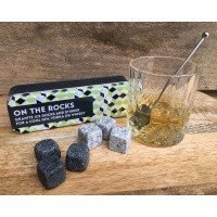 Granite Ice Cubes in a Tin | Unusual Gifts