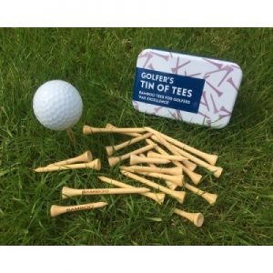 Golfer's Tin of Tees | Unusual Gifts