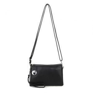 Black Shoulder Bag | Black Clutch Bag