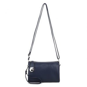 Small Navy Bag | Navy Handbag