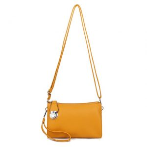 Yellow Shoulder Bag | Yellow Clutch Bag