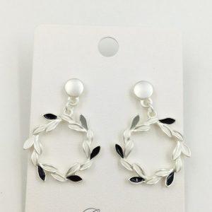 Wreath shaped earrings | Silver Jewellery
