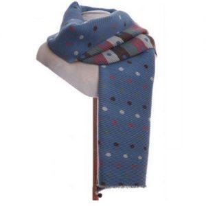 Blue spot scarf SE202