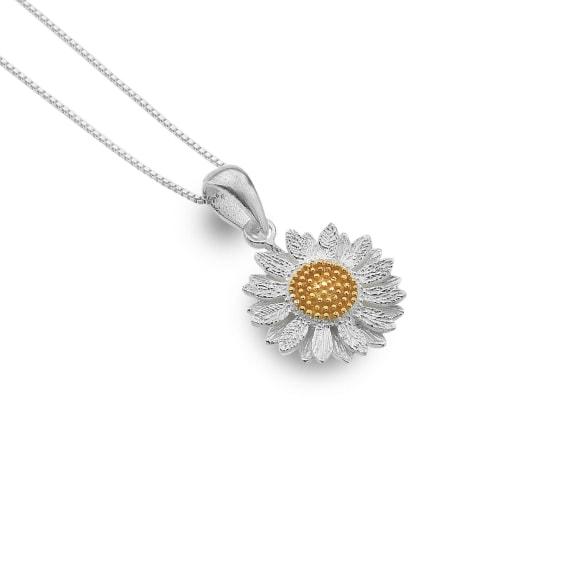 Sunflower necklace | Silver Jewellery