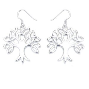 Celtic tree of life earrings | Silver Jewellery
