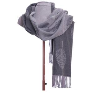 Beautiful Pashmina | Luxury Scarves | Luxury Soft Grey Wrap | Luxury Scarf