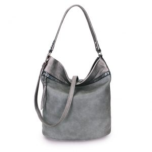 Large Grey bucket bag