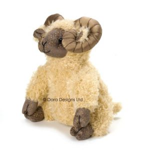 Aaron Ram Sheep Doorstop