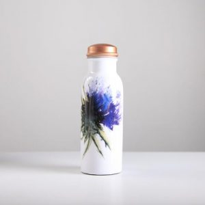 Thistle copper bottle