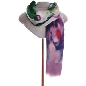 Pink/purple mix scarf