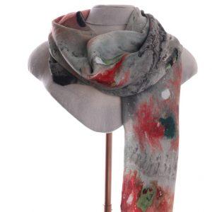 Watercolour scarf