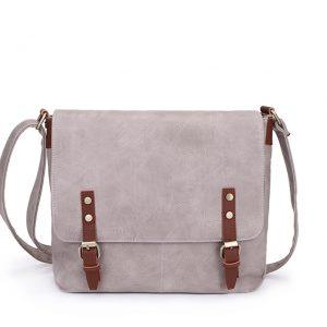 Light grey satchel