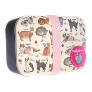 Bamboo Cats lunch box