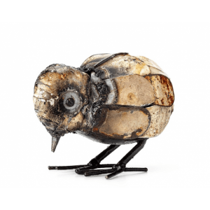 Recycled metal chick